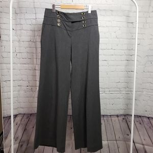 Elevenses Anthropologie High Waisted Wide Leg Pant